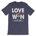 Love Will Win In The End - Unisex Short Sleeve T-Shirt