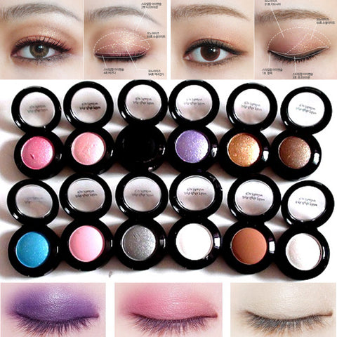 Waterproof Eyeshadow Colour Palette (14 colours) x 1 set