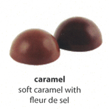 caramel flavoured chocolate