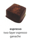 espresso flavoured chocolate