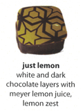 lemon flavoured chocolate