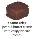 peanut crisp flavoured chocolate