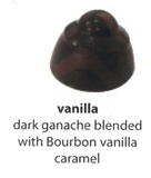 bourbon vanilla with dark chocolate flavour
