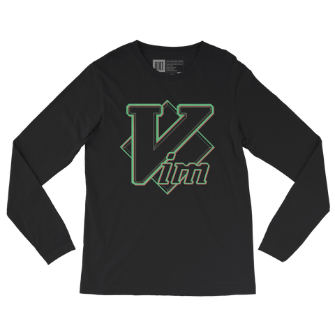 Vim long-sleeve tee