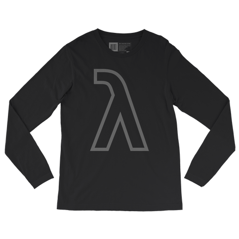 Lambda long-sleeve tee