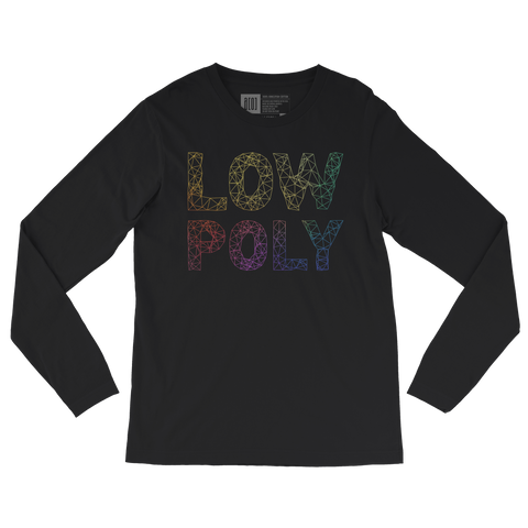 Low Poly long-sleeve tee