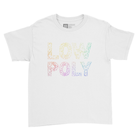 Low Poly youth tee