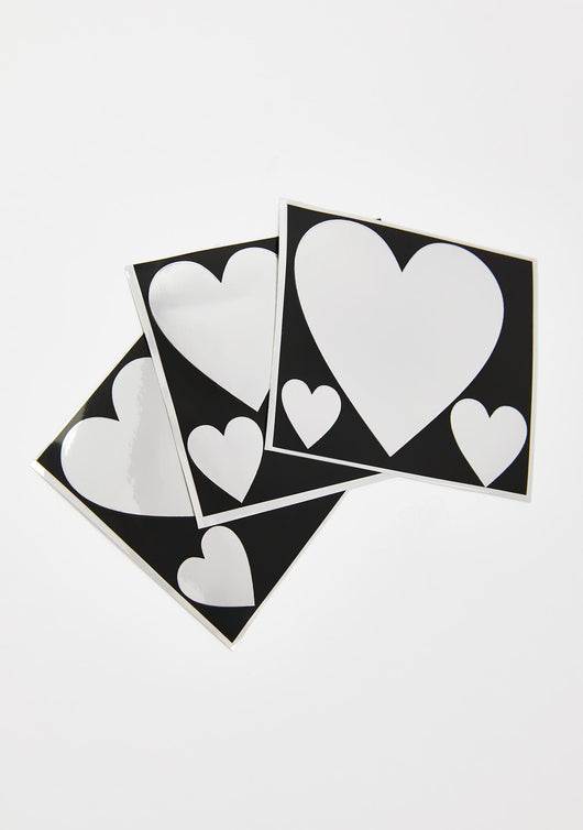 Heart Disco Stencil Sheets