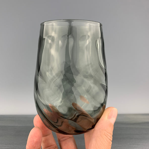 Charcoal Stemless Wineglass
