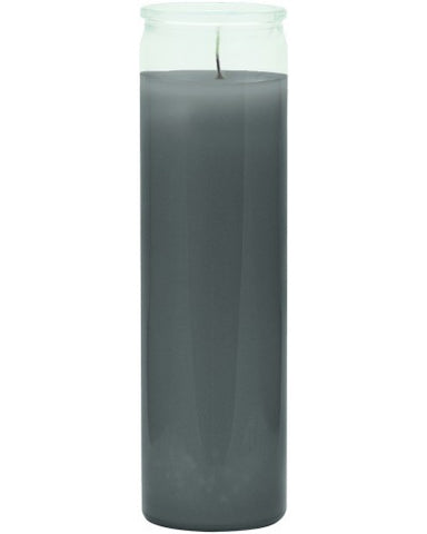Plain Gray Candle - 1 Color 7 Day