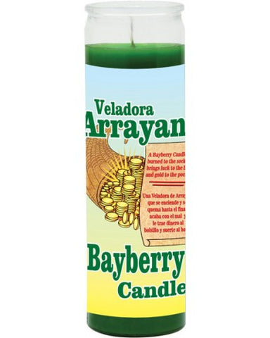 Bayberry Green Candle - Scented Wax 7 Day