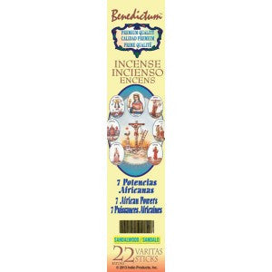 Benedictum 7 African Powers Incense Sticks