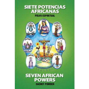 Sachet - 7 African Power Powder - 1/2oz