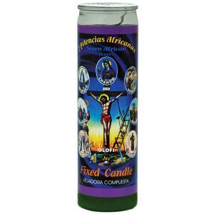7 African Powers Candle - Velas Misticas