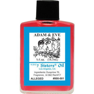 7 Sisters Adam & Eve Oil - 0.5oz
