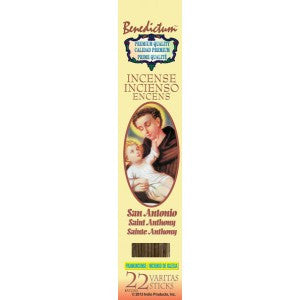 Benedictum St. Anthony Incense Sticks