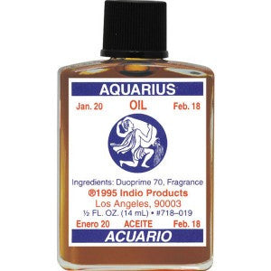 Indio Aquarius Zodiac Oil - 0.5oz