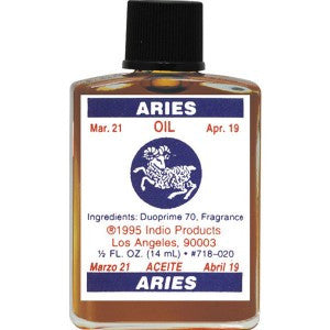 Indio Aries Zodiac Oil - 0.5oz