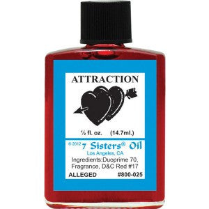 7 Sisters Attraction Oil - 0.5oz