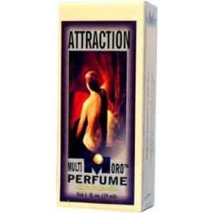 Multioro Attraction Perfume 1oz