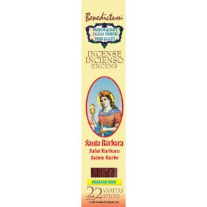 Benedictum St. Barbara Incense Sticks