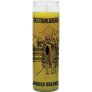 Barrier Breaker Yellow Candle