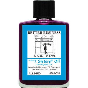 7 Sisters Better Business Oil - 0.5oz