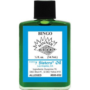 7 Sisters Bingo Oil - 0.5oz