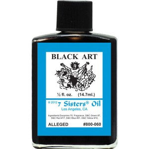 7 Sisters Black Art Oil - 0.5oz