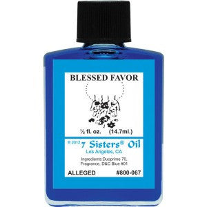 7 Sisters Blessed Favor Oil - 0.5oz