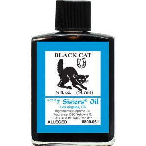 7 Sisters Black Cat Oil - 0.5oz