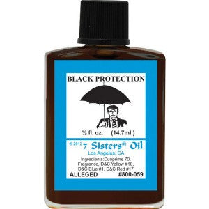 7 Sisters Black Protection Oil - 0.5oz