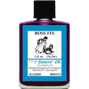 7 Sisters Boss Fix Oil - 0.5oz