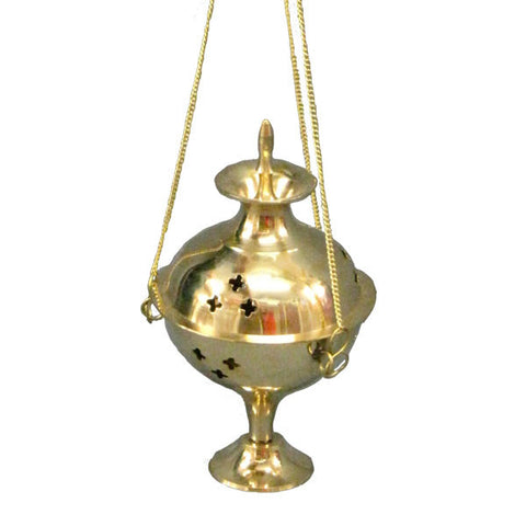 "Copy of Brass Hanging Burner 6.5"" wide"