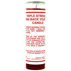 Bring Back Your Mate Candle - 7 Sisters Fixed Candle