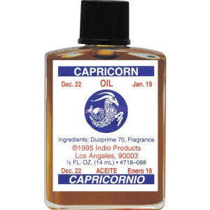 Indio Capricorn Zodiac Oil - 0.5oz