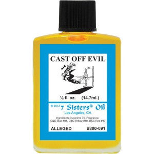 7 Sisters Cast Off Evil Oil - 0.5oz
