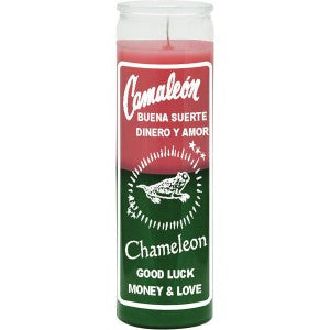 Chameleon Candle