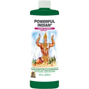 Powerful Indian Spirit Of Good Luck Bath & Floor Wash