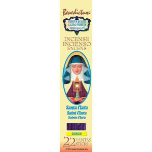 Benedictum St. Clara Incense Sticks