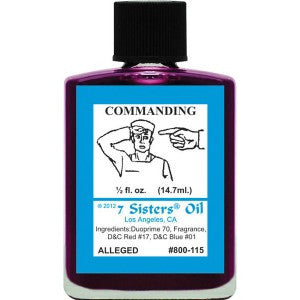 7 Sisters Commanding Oil - 0.5oz