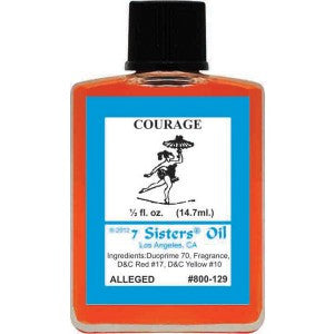 7 Sisters Courage Oil - 0.5oz