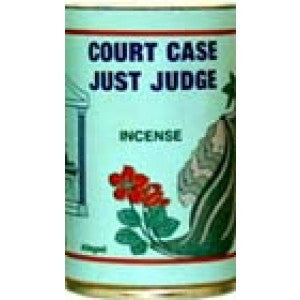 7 Sisters Court Case / Just Judge Incense Powder