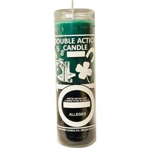 Money Reversible Green/Black Candle