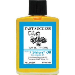 7 Sisters Fast Success Oil - 0.5oz