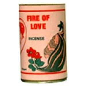 7 Sisters Fire Of Love Incense Powder