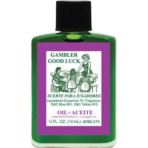 Indio Gambler Good Luck Oil - 0.5oz