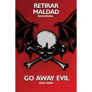 Sachet - Go Away Evil Powder - 1/2oz