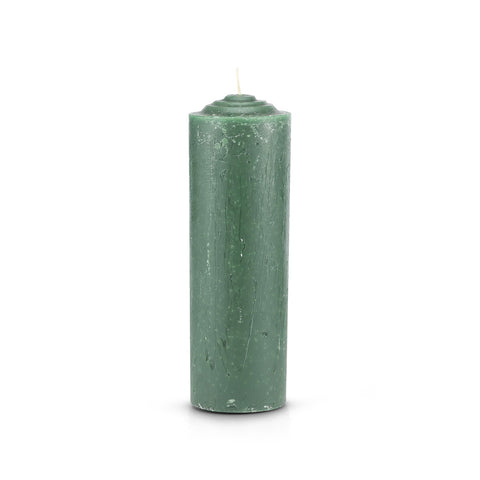 7 Day Pullout Candle Refill Green