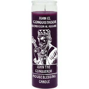 John The Conqueror Purple Candle